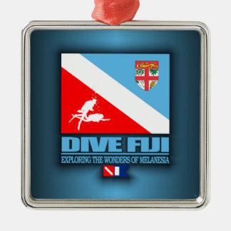 Dive Fiji Metal Ornament