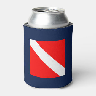 Dive Flag Can Cooler