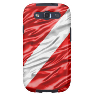 Dive Flag Galaxy SIII Covers
