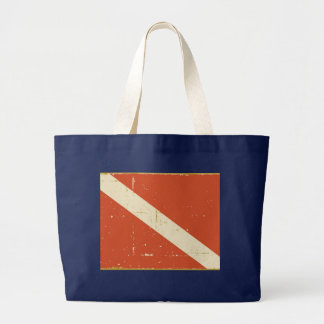 Dive Flag Jumbo Tote Bag