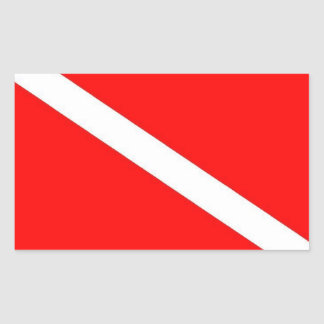 Dive Flag Sticker