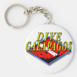 Dive Galapagos Keychain