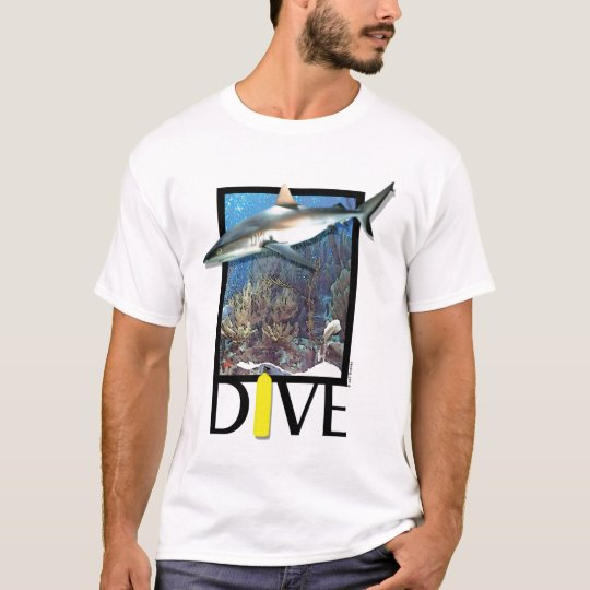 Dive Groupy, diving, shark T-Shirt