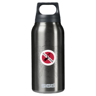 Dive Here Insulated Water Bottle