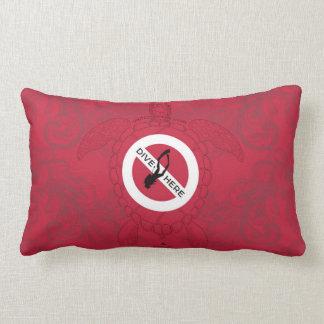 Dive Here Lumbar Pillow