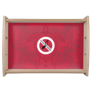 Dive Here Serving Tray
