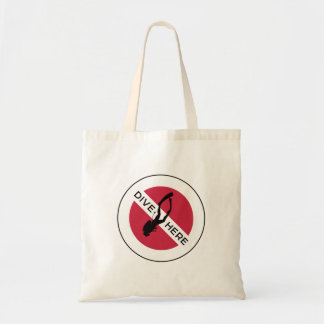Dive Here Tote Bag
