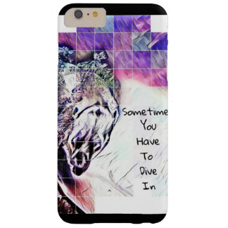 Dive in barely there iPhone 6 plus case