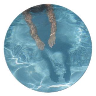 Dive-In Melamine Plate