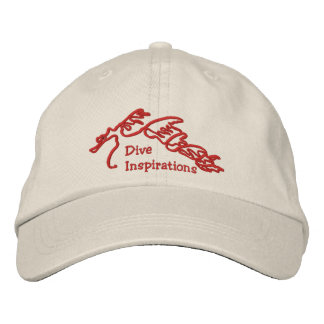 Dive Inspirations Sea Dragon Logo Hat Embroidered Baseball Caps