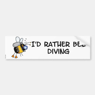dive instructor bumper sticker