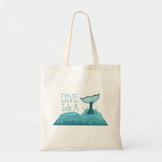 Dive into a Good Book Tote Bag