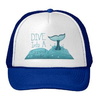 Dive into a Good Book Trucker Hat