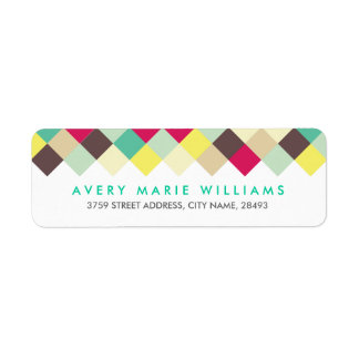 Dive Into Colour Return Address Label