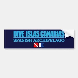 Dive Islas Canarias Bumper Sticker