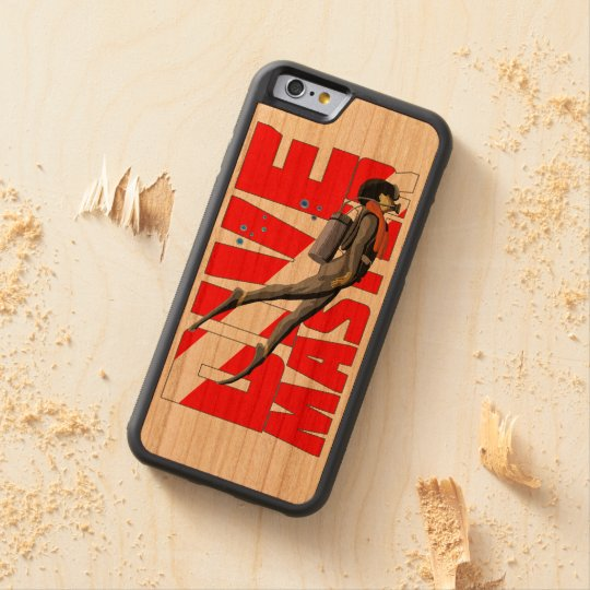 Dive Master Carved Cherry iPhone 6 Bumper Case