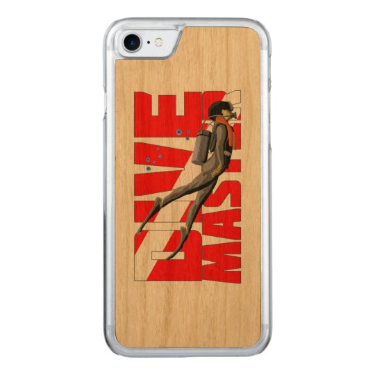 Dive Master Carved iPhone 7 Case