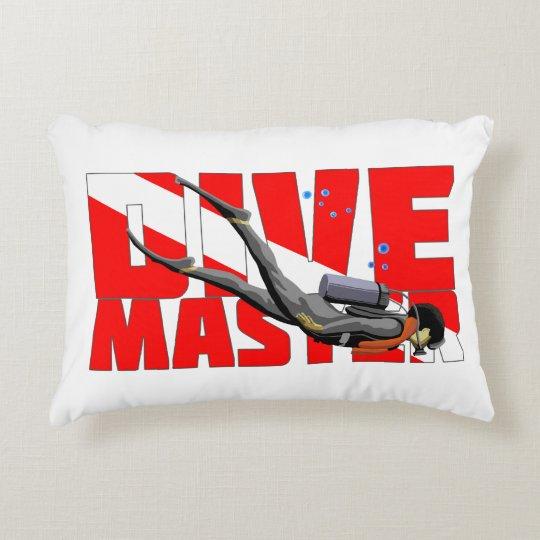 Dive Master Decorative Pillow