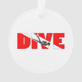 Dive Master Ornament