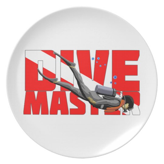 Dive Master Party Plate
