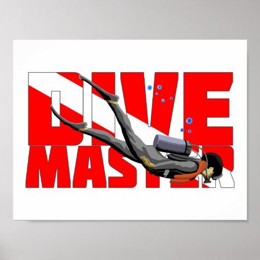 Dive Master Poster