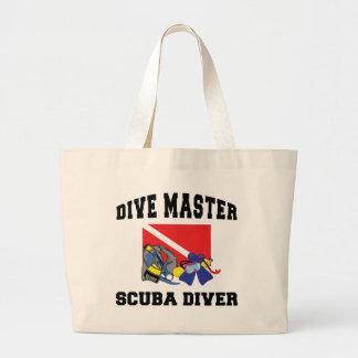 Dive Master SCUBA Diver Canvas Bag