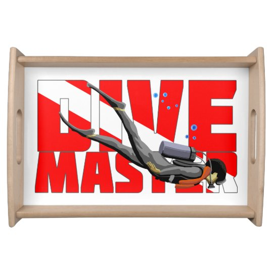 Dive Master Service Tray