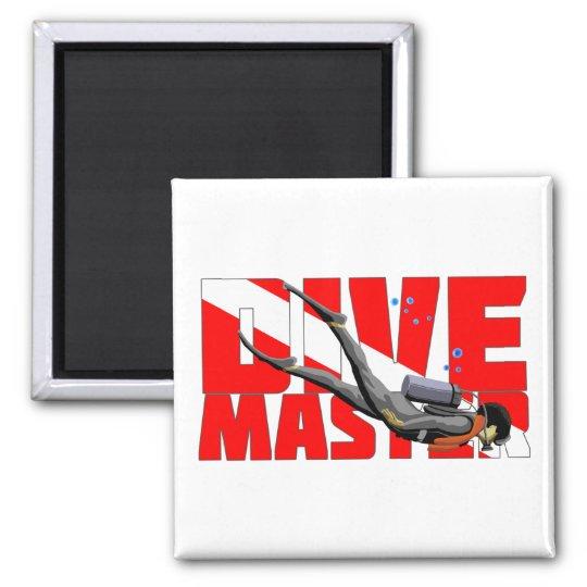 Dive Master Square Magnet