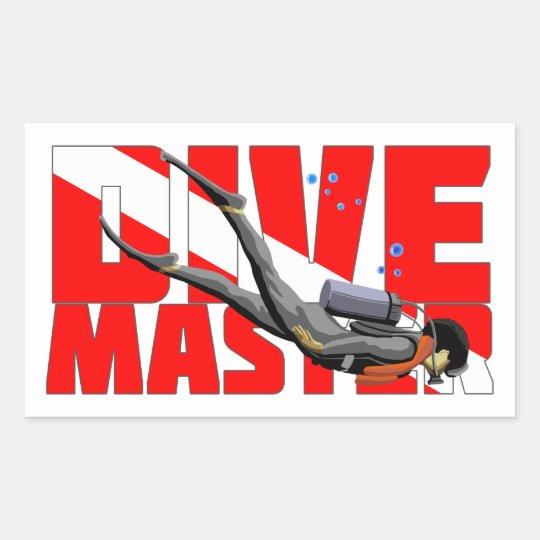 Dive Master Sticker