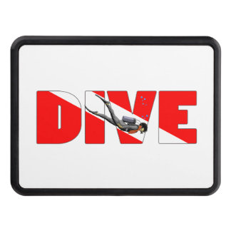 Dive Master Trailer Hitch Cover