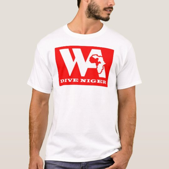 Dive Niger - Logo front - web address back T-Shirt