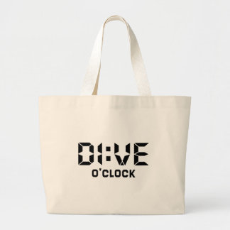 Dive O'Clock Large Tote Bag