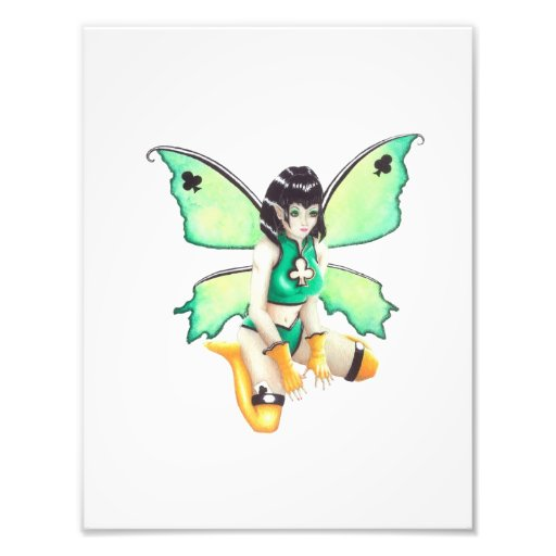 Dive of Clubs Faery Poster Print Photo