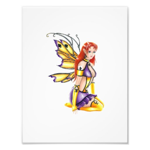 Dive of Spades Faery Poster Print Photo