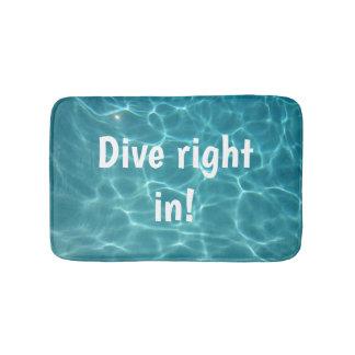 Dive Right in! Bath Mat