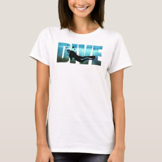 DIVE Scuba Diving Womens T-Shirt
