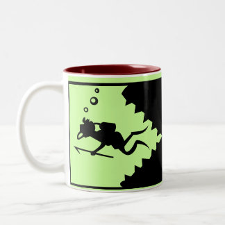 DIVE Two-Tone COFFEE MUG