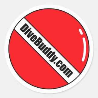DiveBuddy.com Round Sticker