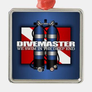 Divemaster (Scuba Tanks) Metal Ornament