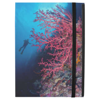 Diver and Soft Coral iPad Pro Case
