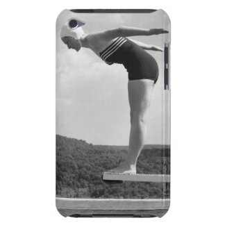 Diver Barely There iPod Cover