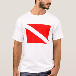 Diver Below  Flag T Shirt