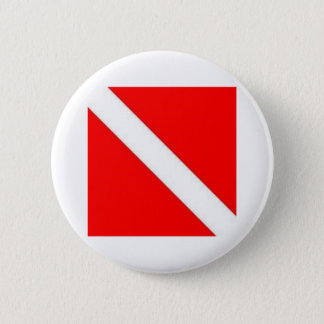 DIVER DOWN 2 INCH ROUND BUTTON