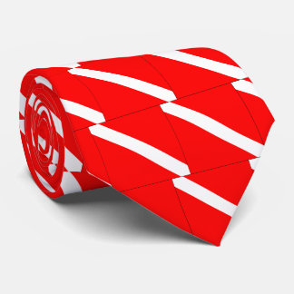 Diver Down Classic Flag Scuba Diving Awesome Tie
