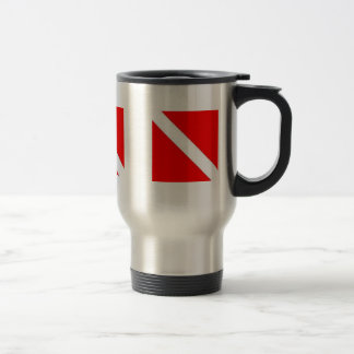 DIVER DOWN COFFEE CUP - great for travel! 15 Oz Stainless Steel Travel Mug