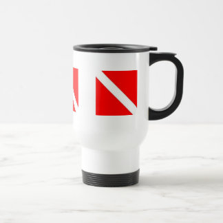 DIVER DOWN COFFEE CUP - great for travel! Coffee Mug
