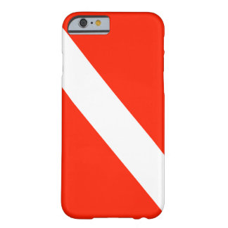 Diver Down Scuba Dive Flag Barely There iPhone 6 Case