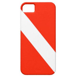 Diver Down Scuba Dive Flag iPhone 5 Case