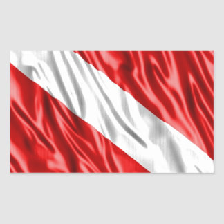 Diver Flag Sticker