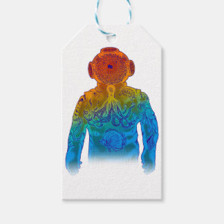 Diver Gift Tags